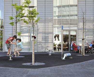 Het Zonnehuis, Amstelveen  ; werk van bureau Hosper; www.hosper.nl