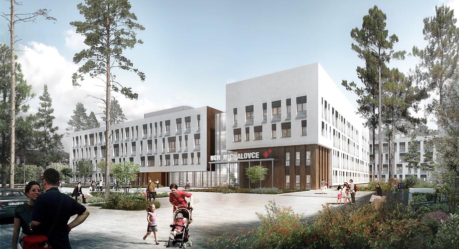 Next Generation Hospital Michalovce Slovakia