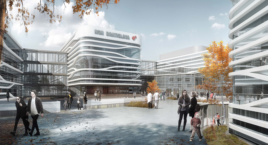 Next Generation Hospital Bratislava Slovakia - Dutch